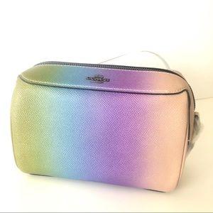Coach Bennett Crossbody Leather Ombre Rainbow 🌈